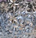 Bloempailletten-12mm-zilver