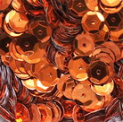 Pailletten-8mm-oranje