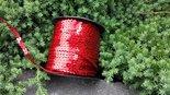 Disco-Paillettenband-rood