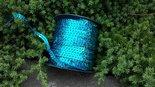 Disco-Paillettenband-blauw