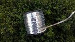 Paillettenband-zilver