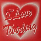 Sticker-hart-I-love-Twirling